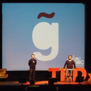 Com ó e com prazer no TEDx Vimaranes