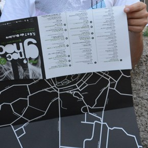 Mapa da edição de 2013